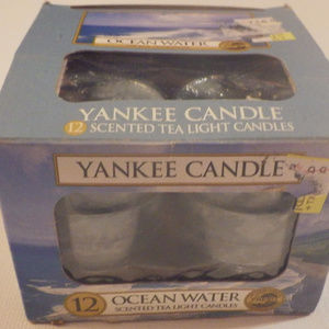 Yankee Candle Ocean Eater Scented Tea Lights RARE